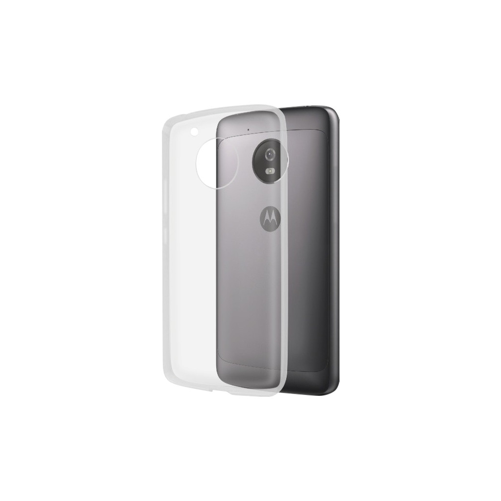 Azuri TPU Ultra Thin Motorola Moto G5 Back Cover Transparant
