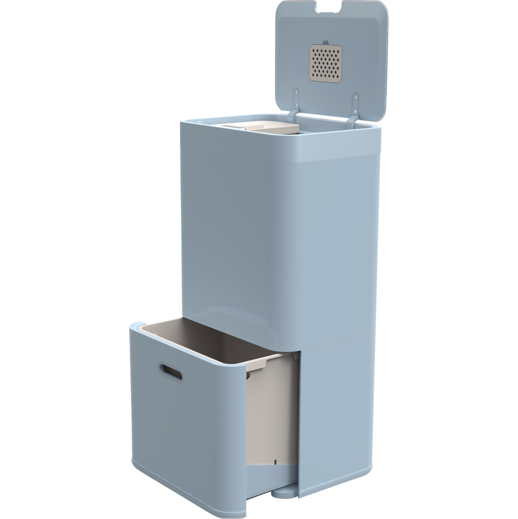 Joseph Joseph Intelligent Waste Totem 60 Liter Blauw