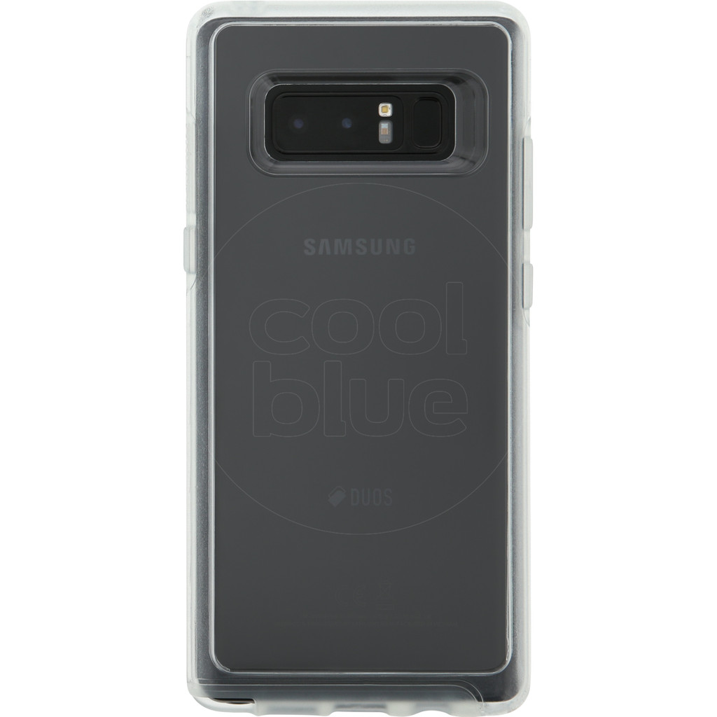 Otterbox Symmetry Clear Samsung Galaxy Note 8 Back Cover Transparant