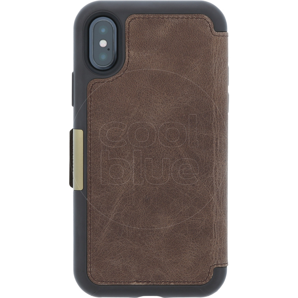 Otterbox Strada Apple iPhone X Book Case Bruin
