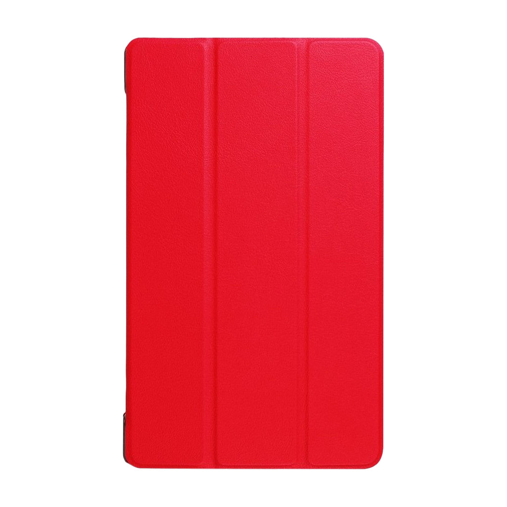 Just in Case Lenovo Tab 4 8 Smart Tri-Fold Case Rood