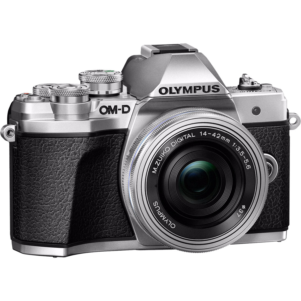Olympus OM-D E-M10 Mark III Body Zilver + 14-42mm