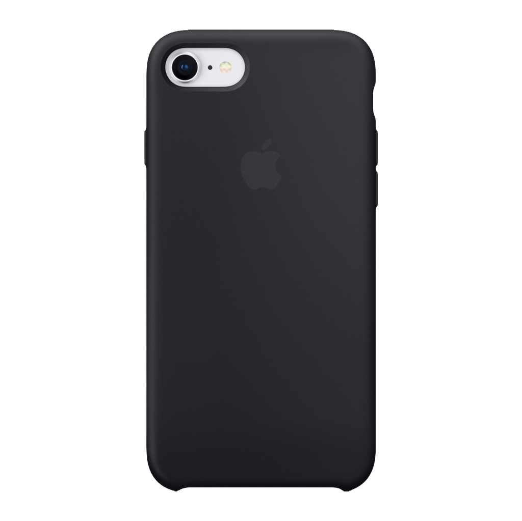 Apple iPhone 7/8 Silicone Back Cover Zwart