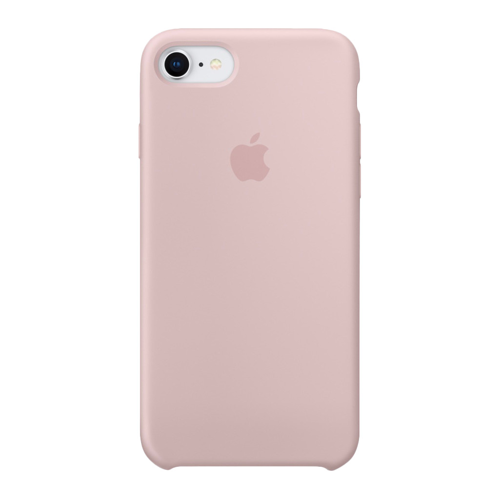 Apple iPhone 7/8 Silicone Back Cover Roze