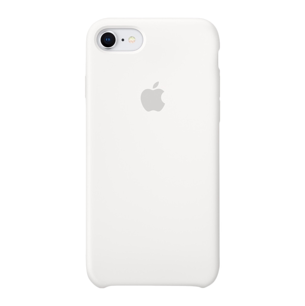 Apple iPhone 7/8 Silicone Back Cover Wit