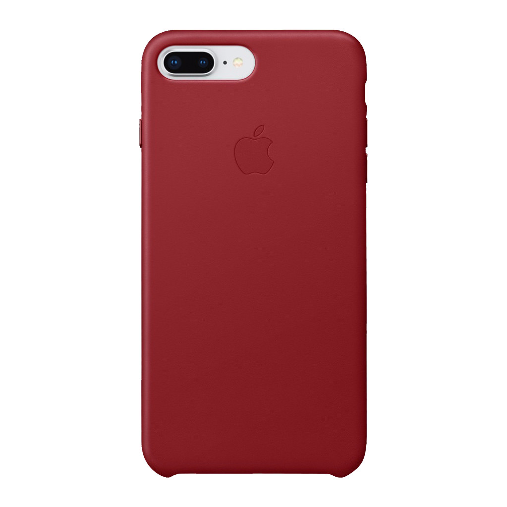 Apple iPhone 7 Plus/8 Plus Leather Back Cover Rood