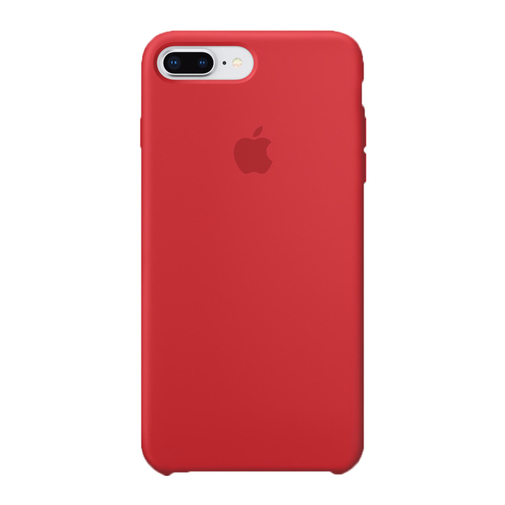 Apple iPhone 7 Plus/8 Plus Silicone Back Cover Rood