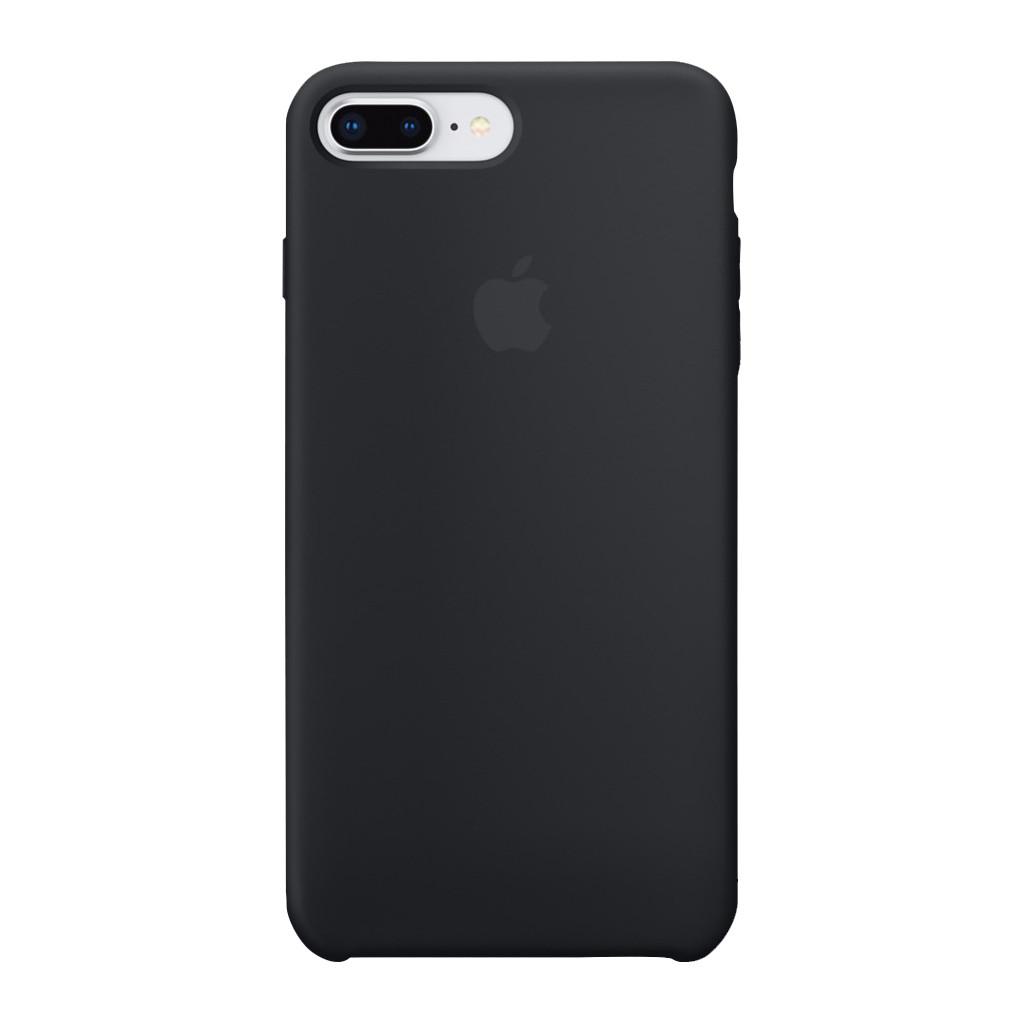 Apple iPhone 7 Plus/8 Plus Silicone Back Cover Zwart