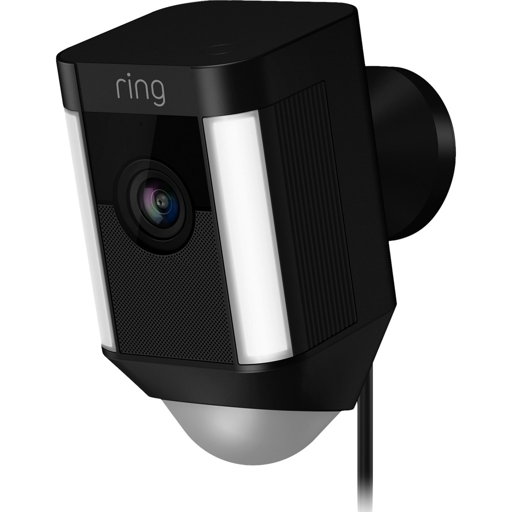 Ring Spotlight Cam Wired Zwart