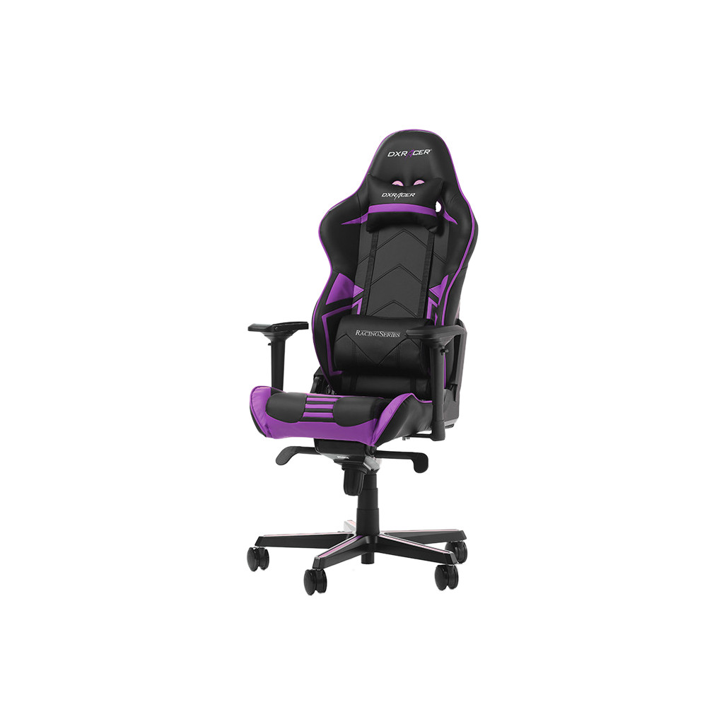 DXRacer RACING PRO Gaming Chair Zwart/Paars