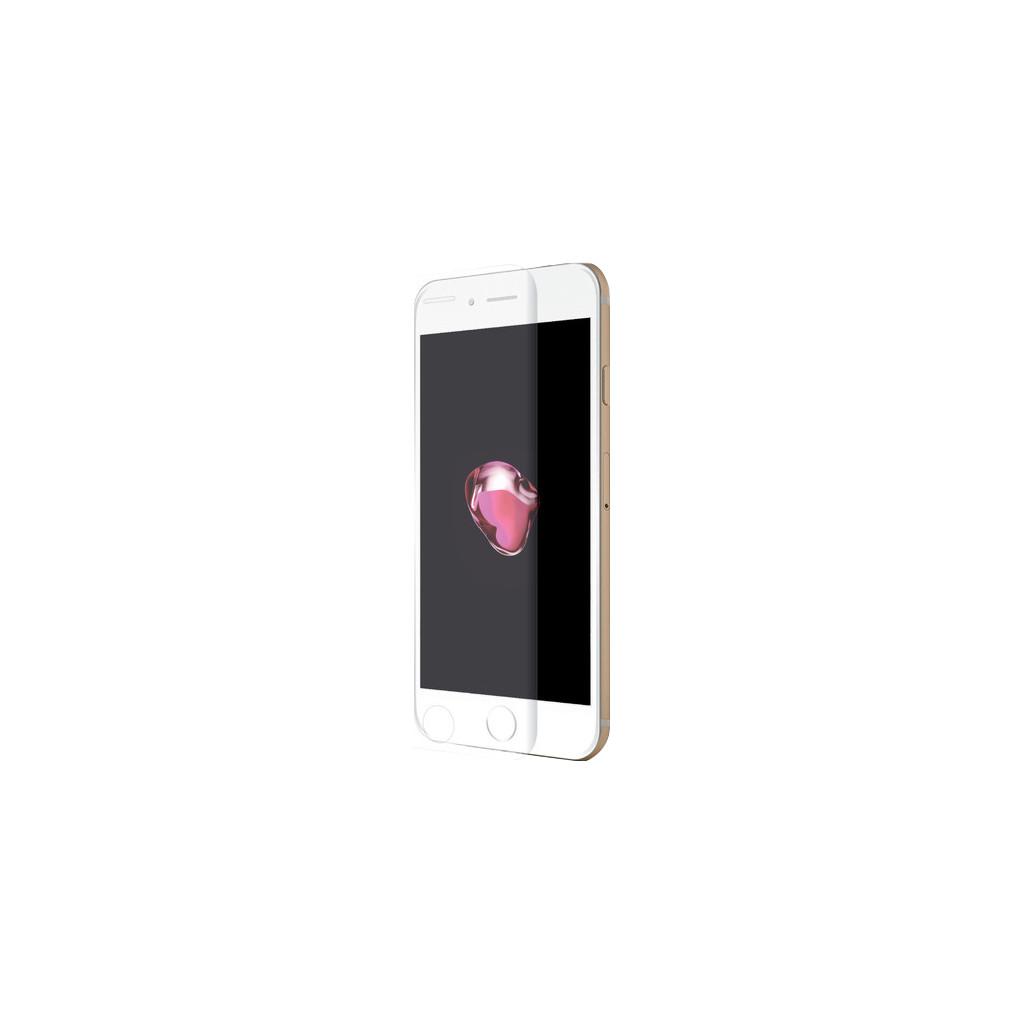 Azuri Apple iPhone 7 Plus/8 Plus Screenprotector Curved Gehard Glas Duo Pack