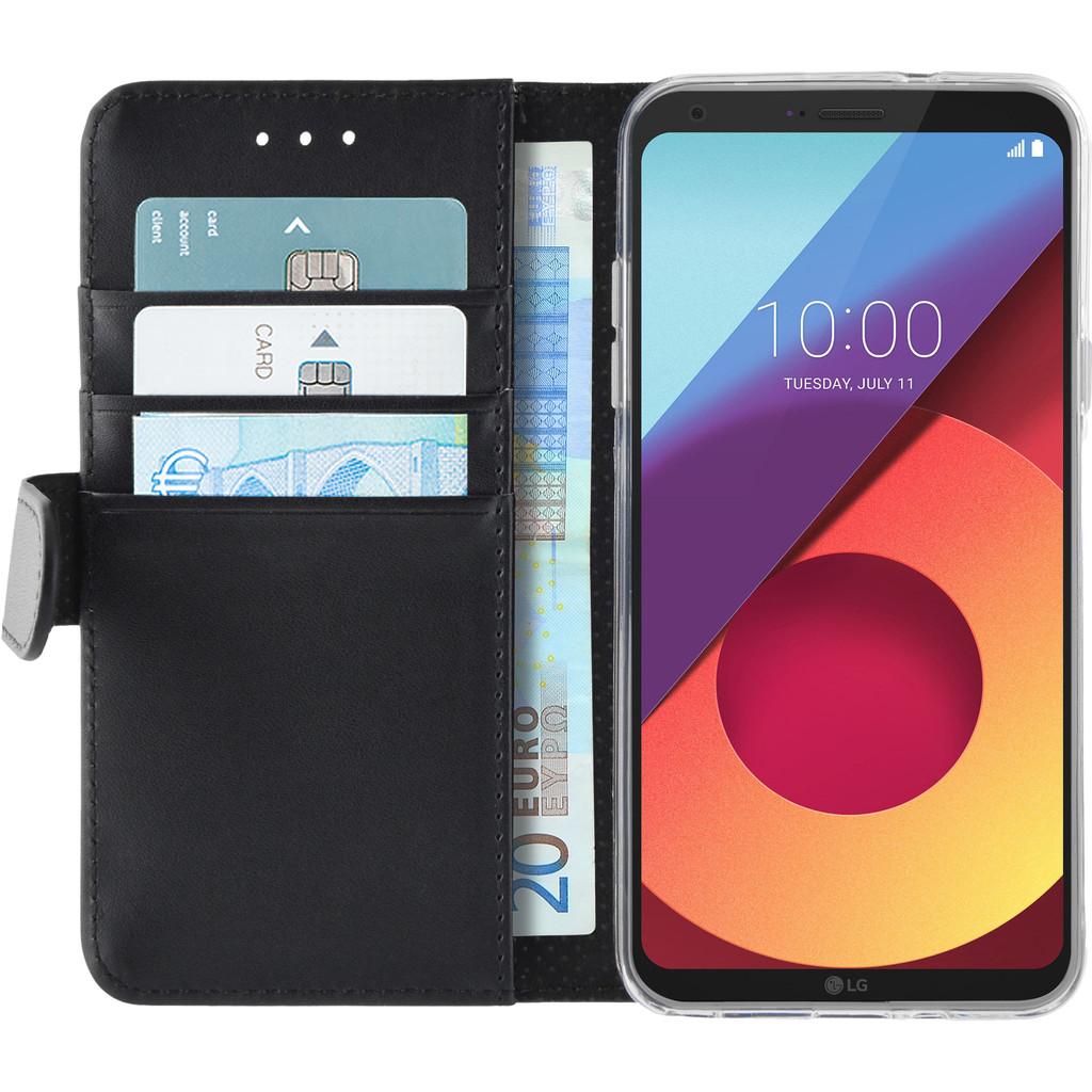 Azuri Wallet Magneet LG Q6 Book Case Zwart