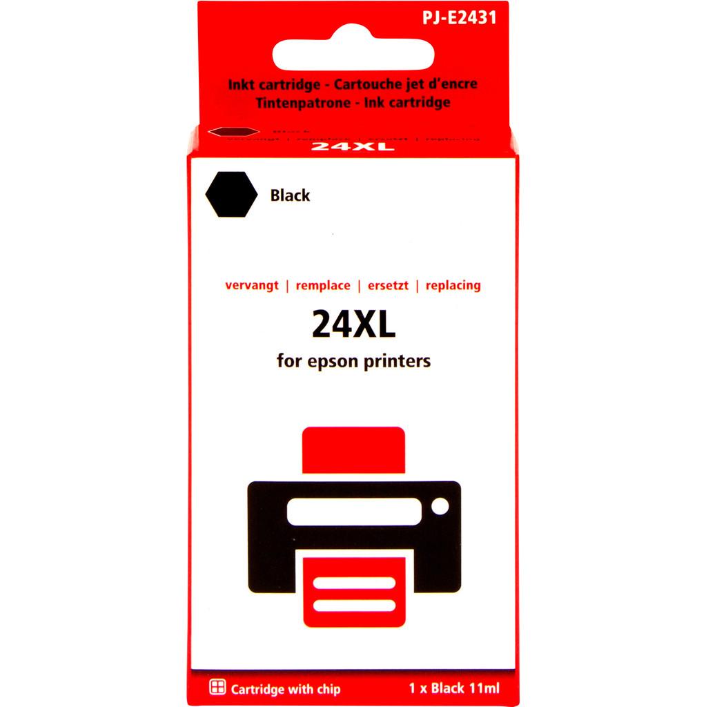 Pixeljet 24XL Zwart voor Epson (C13T24314010)