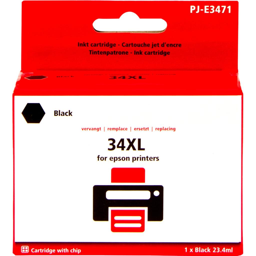 Pixeljet 34XL Zwart voor Epson (C13T34614010)