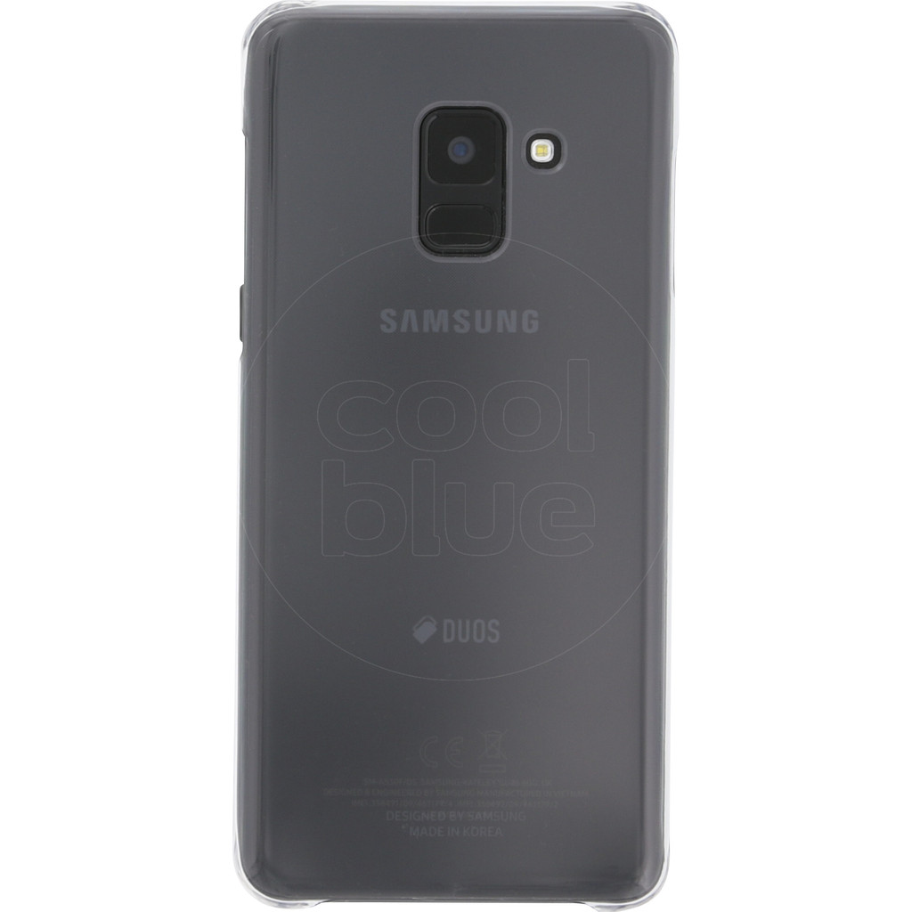 Samsung Galaxy A8 (2018) Clear Back Cover Transparant