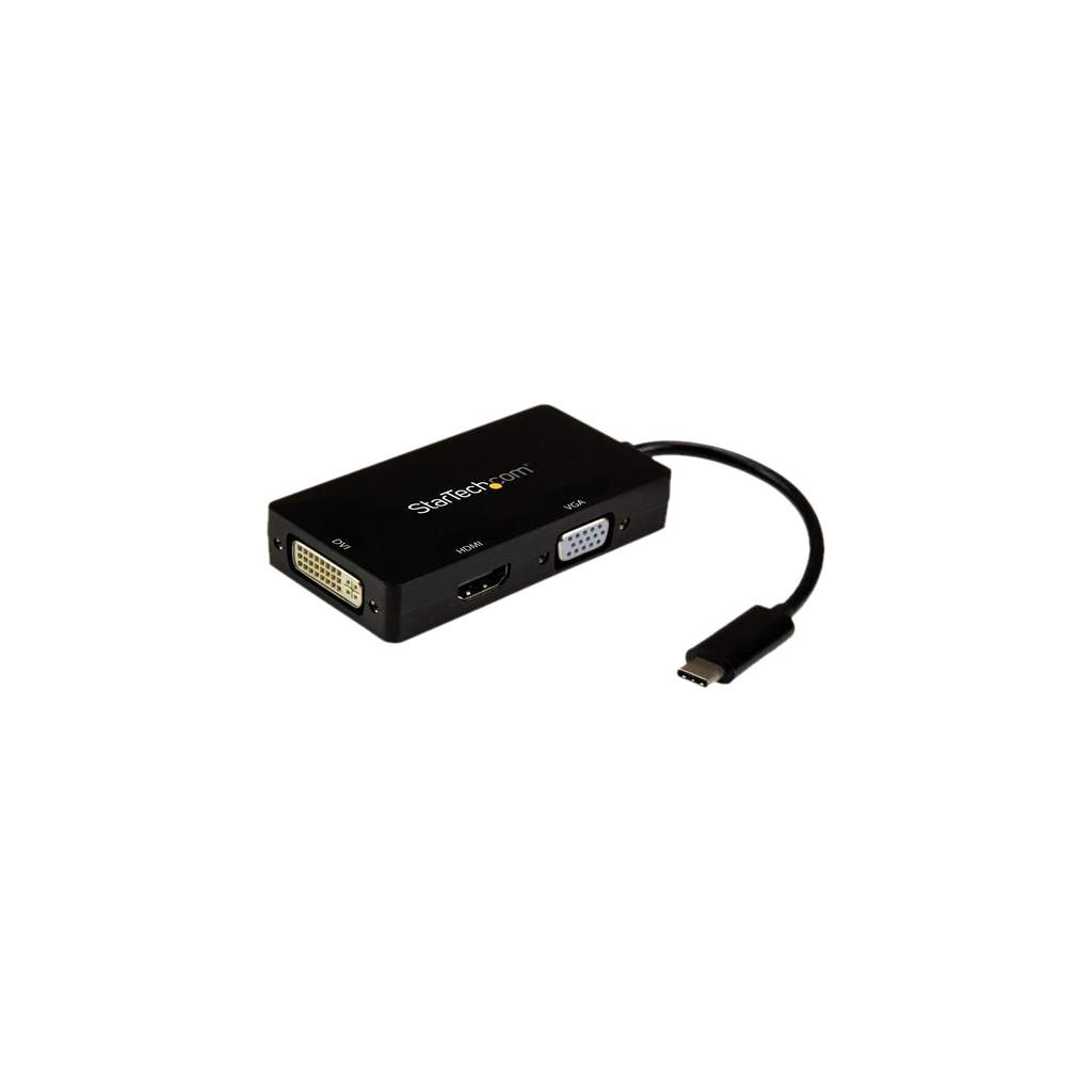 StarTech USB-C - VGA, DVI of HDMI docking station