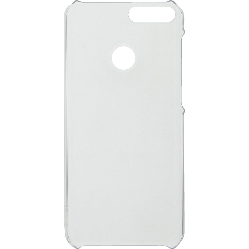 Huawei P Smart Case Back Cover Transparant