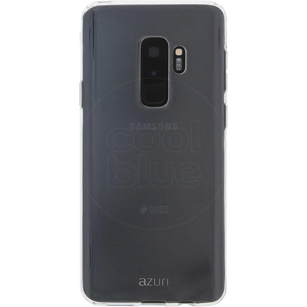 Azuri Glossy TPU Samsung Galaxy S9 Plus Back Cover Transparant