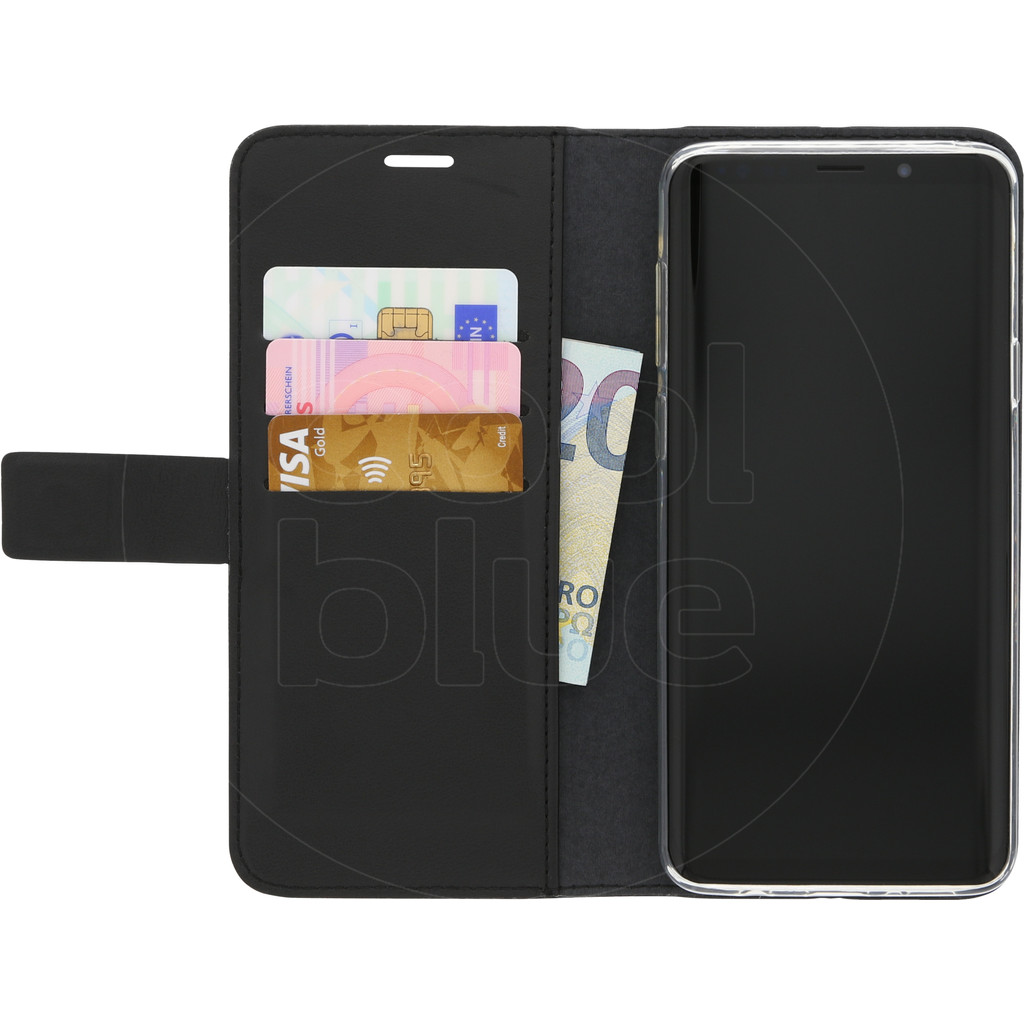 Azuri Wallet Magneet Samsung Galaxy S9 Plus Book Case Zwart