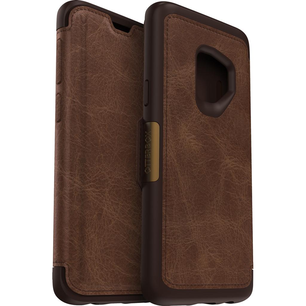 Otterbox Strada Samsung Galaxy S9 Book Case Bruin