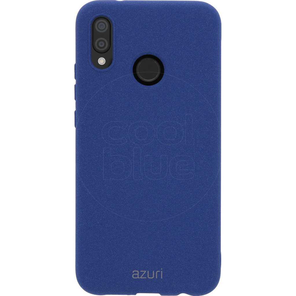 Azuri Flexible Sand Huawei P20 Lite Back cover Blauw