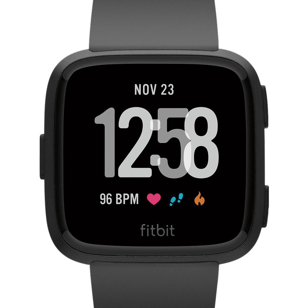 Fitbit Versa Black/Black Aluminum