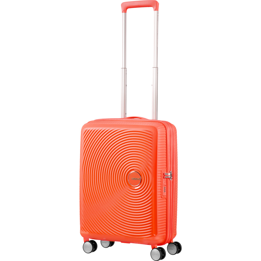 American Tourister Soundbox Expandable Spinner 55cm Spicey Peach