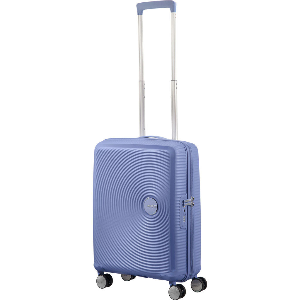 American Tourister Soundbox Expandable Spinner 55cm Denim Blue