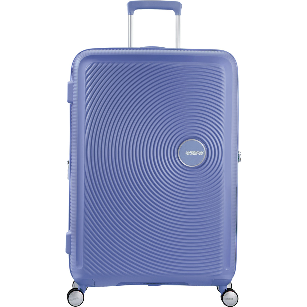 American Tourister Soundbox Expandable Spinner 77cm Denim Blue