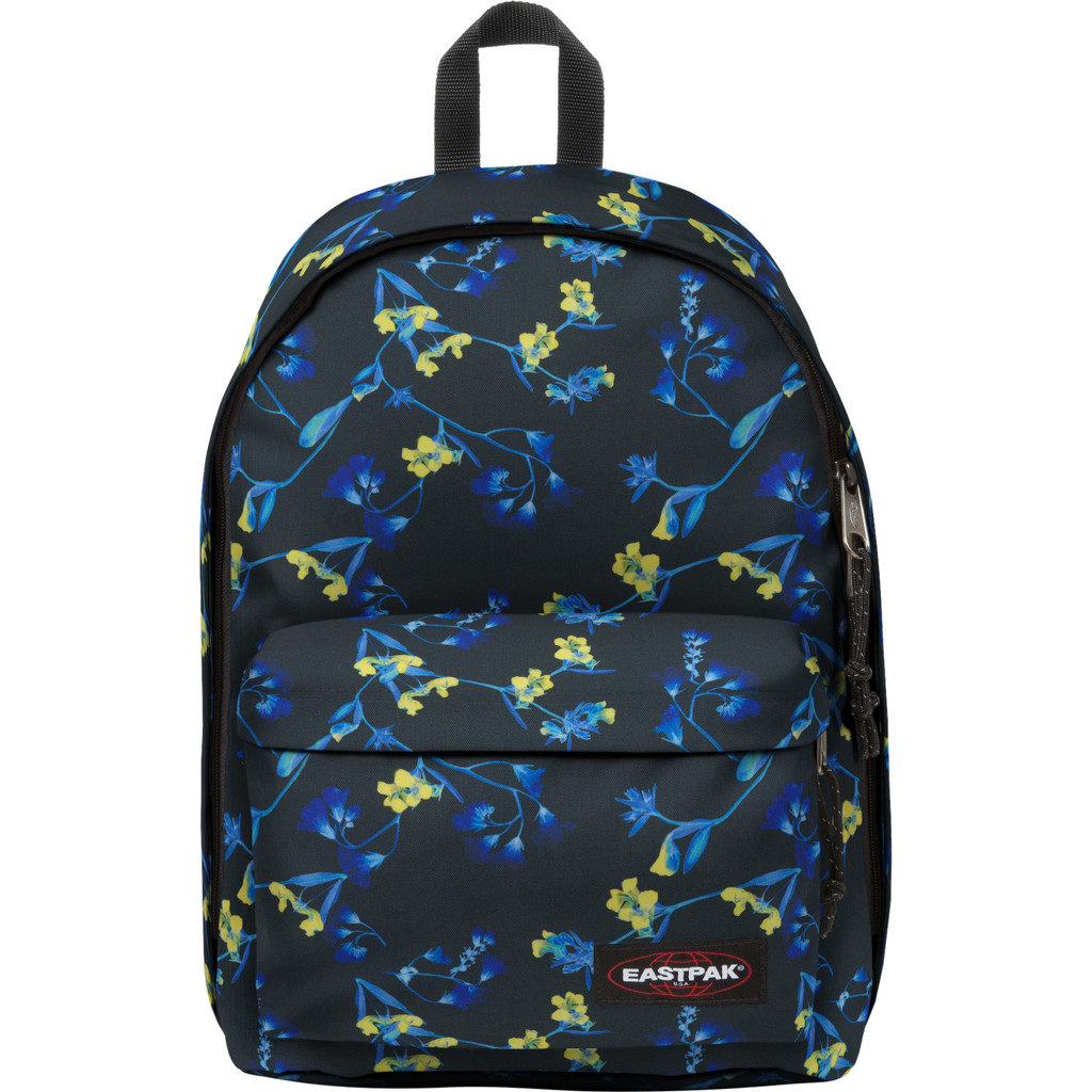 """Eastpak Out Of Office 14"""" Glow Black 27L"""