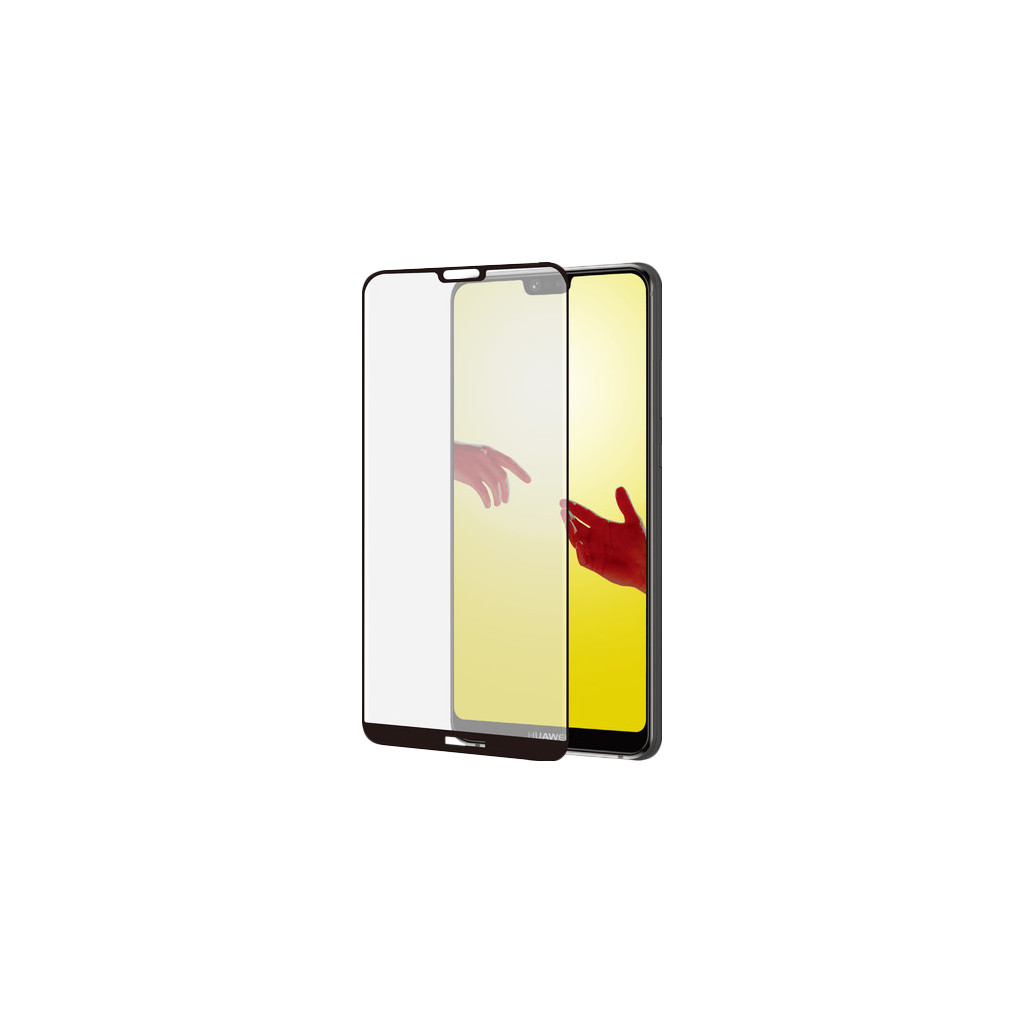 Azuri Gehard Glas Huawei P20 Lite Screenprotector Glas Zwart