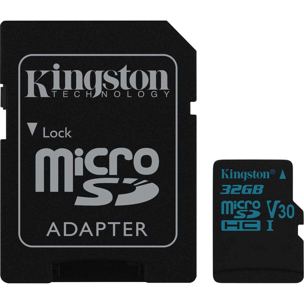 Kingston microSDHC Canvas Go! 32GB 90 MB/s + SD Adapter