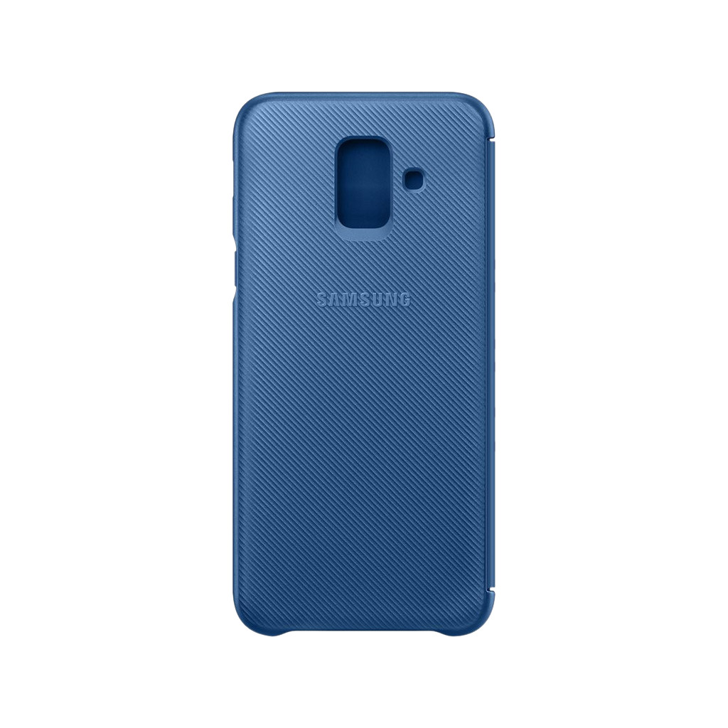 Samsung Galaxy A6 (2018) Wallet Cover Book Case Blauw