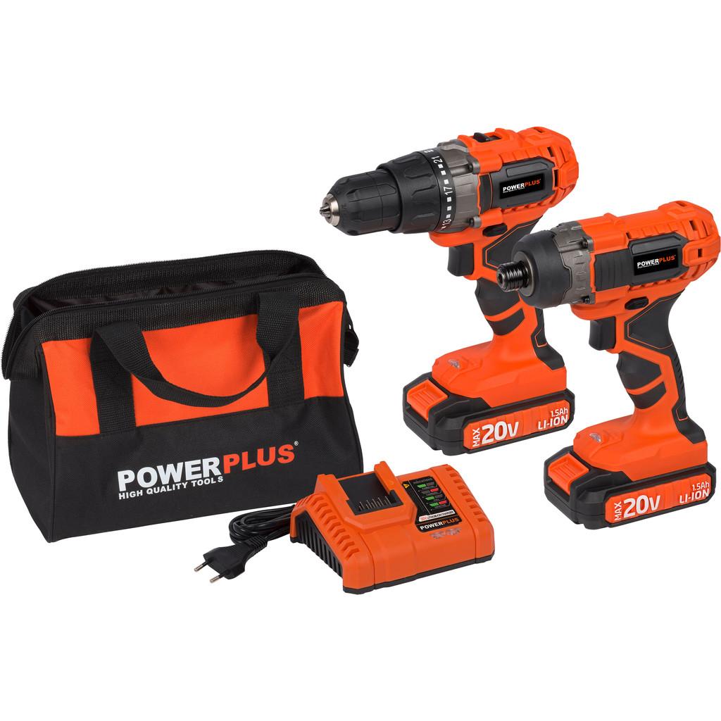Powerplus Dual Power POWDP1550 Combiset