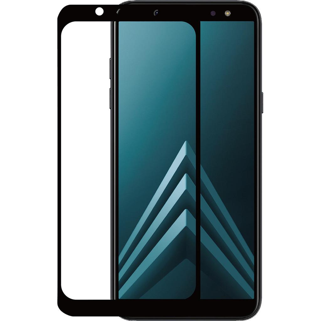 Azuri Samsung Galaxy A6 (2018) Screenprotector Gehard Glas Duo Pack Zwart