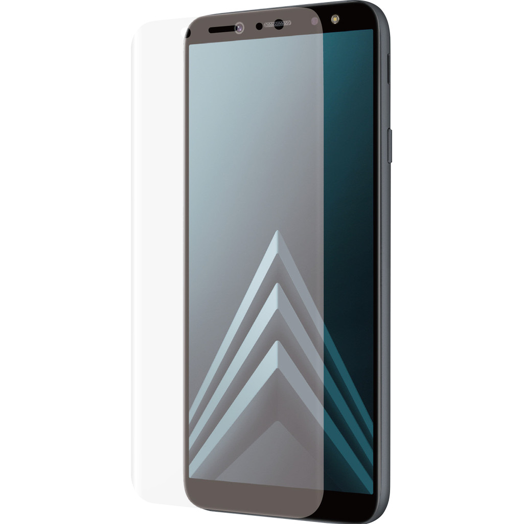 Azuri Samsung Galaxy A6 (2018) Screenprotector Curved Gehard Glas