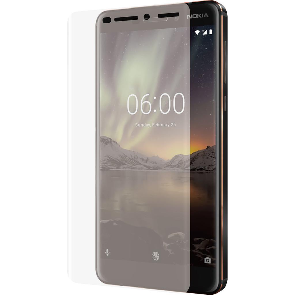 Azuri Nokia 6 (2018) Screenprotector Curved Gehard Glas