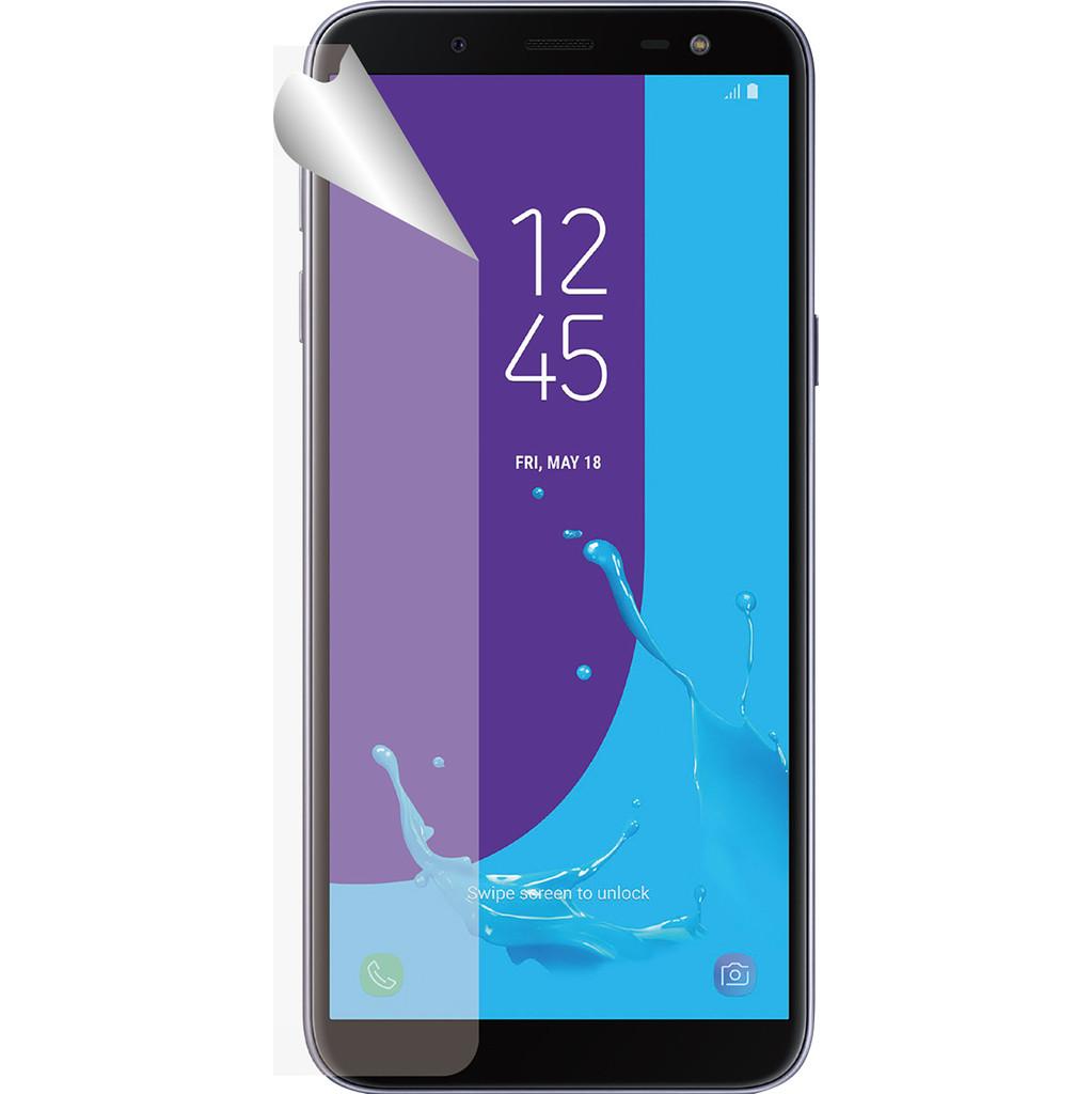 Azuri Samsung Galaxy J6 (2018) Screenprotector Plastic Duo Pack
