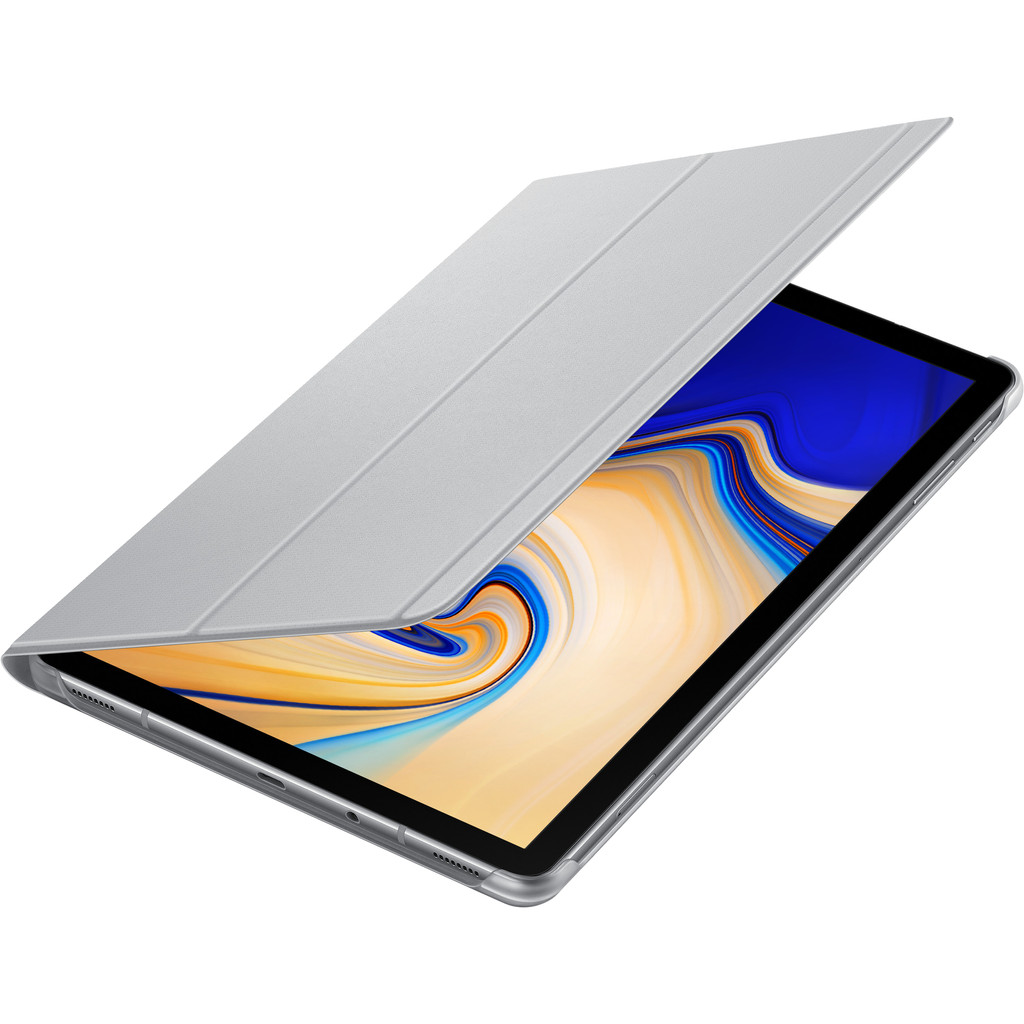 Samsung Galaxy Tab S4 Book Cover Grijs