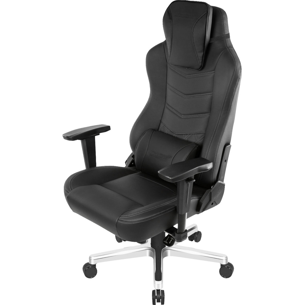 AKRacing, Gaming Chair Office Deluxe - Leer Onyx / Zwart