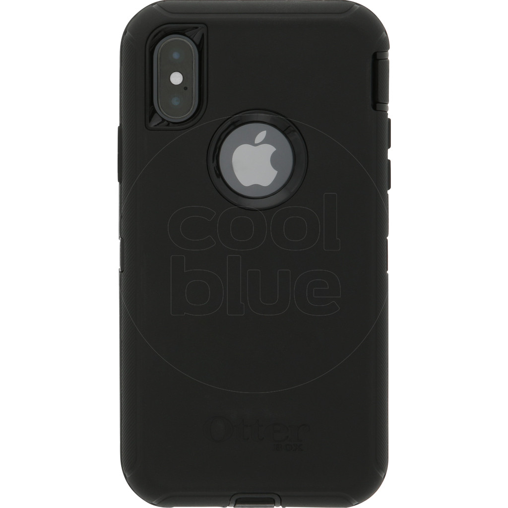 Otterbox Defender Apple iPhone Xs Back Cover Zwart