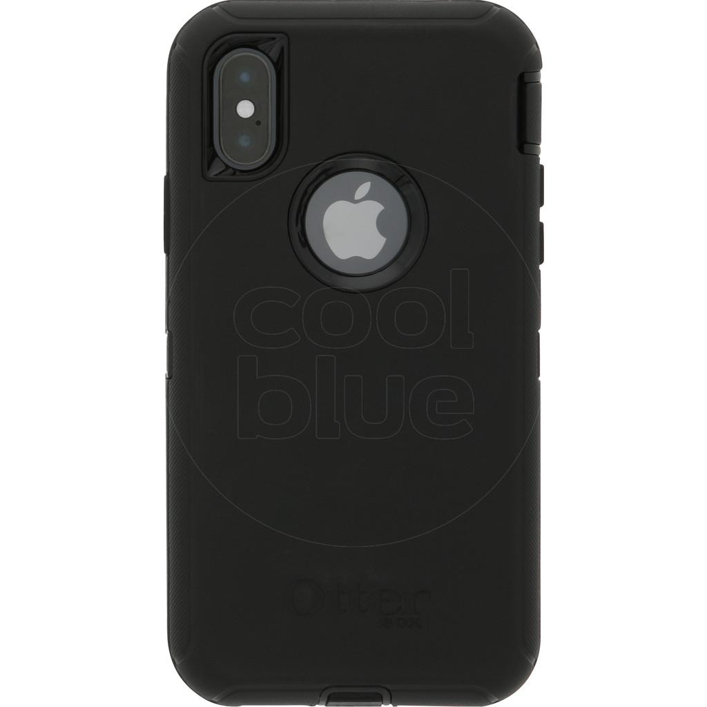 Otterbox Defender Apple iPhone Xs Back Cover Zwart