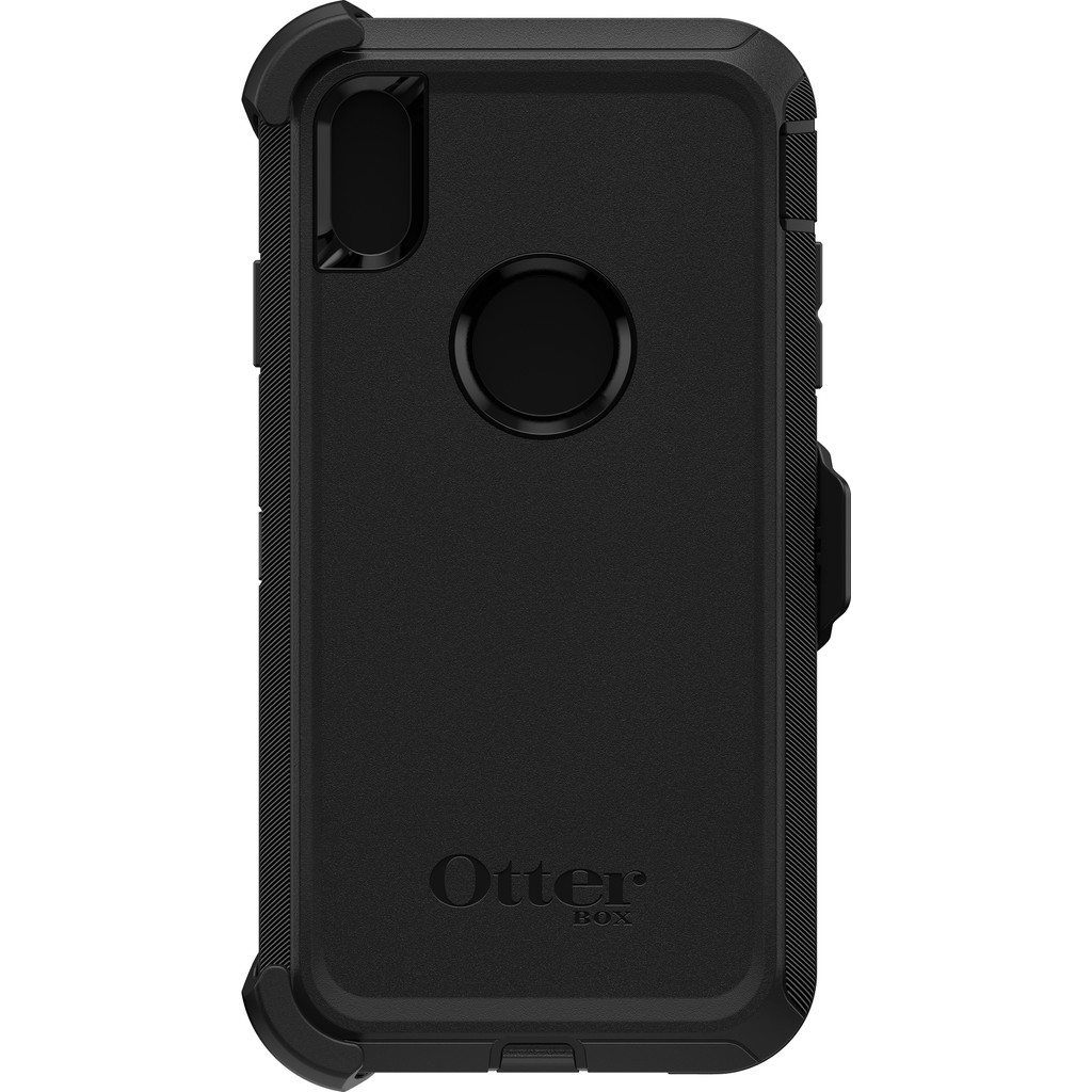 Otterbox Defender Apple iPhone XS Max Back Cover Zwart