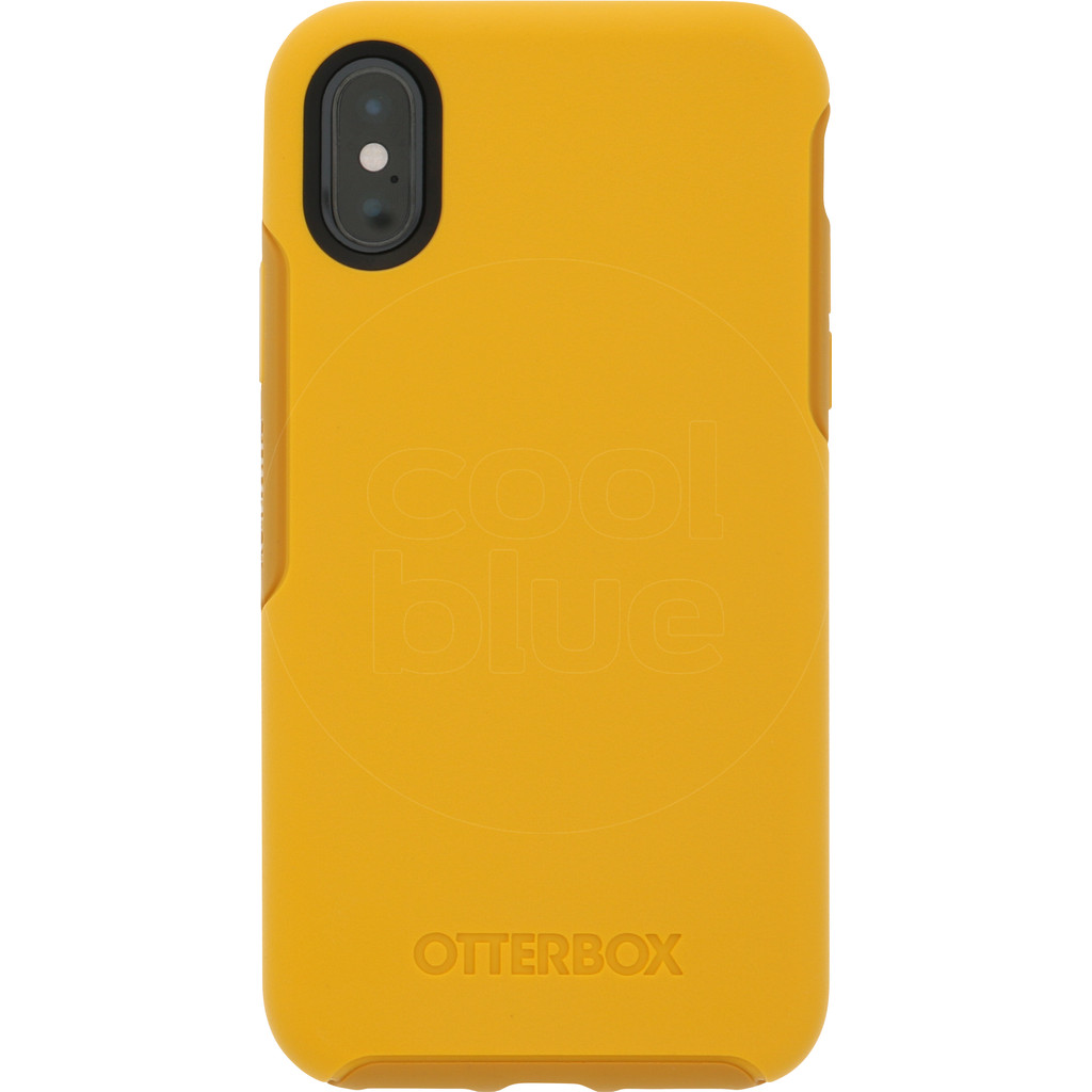 Otterbox Symmetry iPhone Xs Back Cover Geel