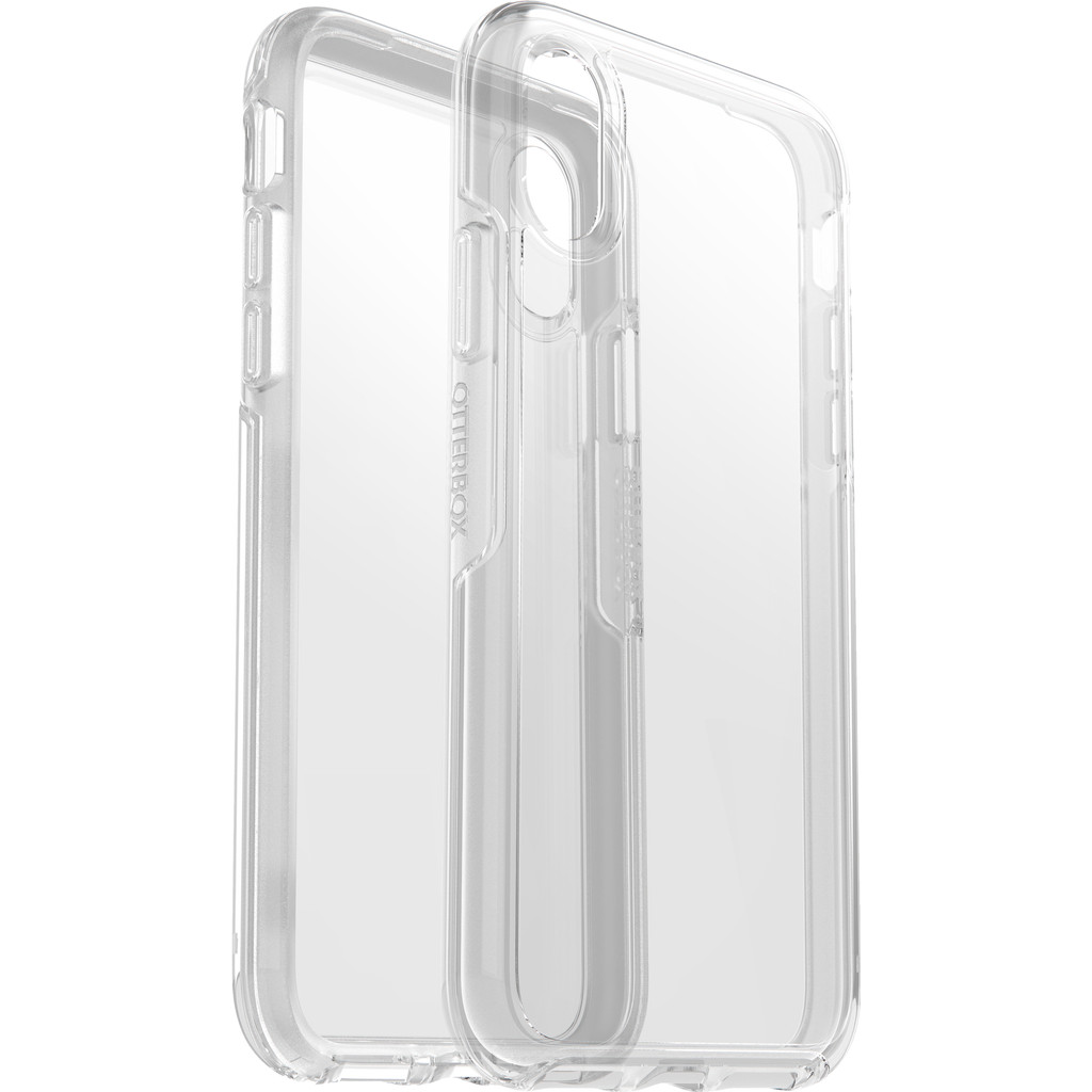Otterbox Symmetry Clear Apple iPhone Xs Back Cover Transparant