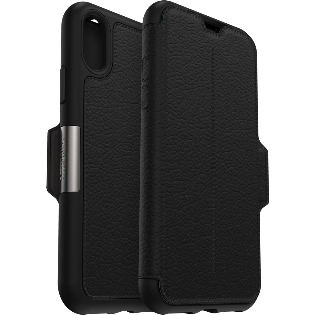 Otterbox Strada Apple iPhone Xs Book Case Zwart