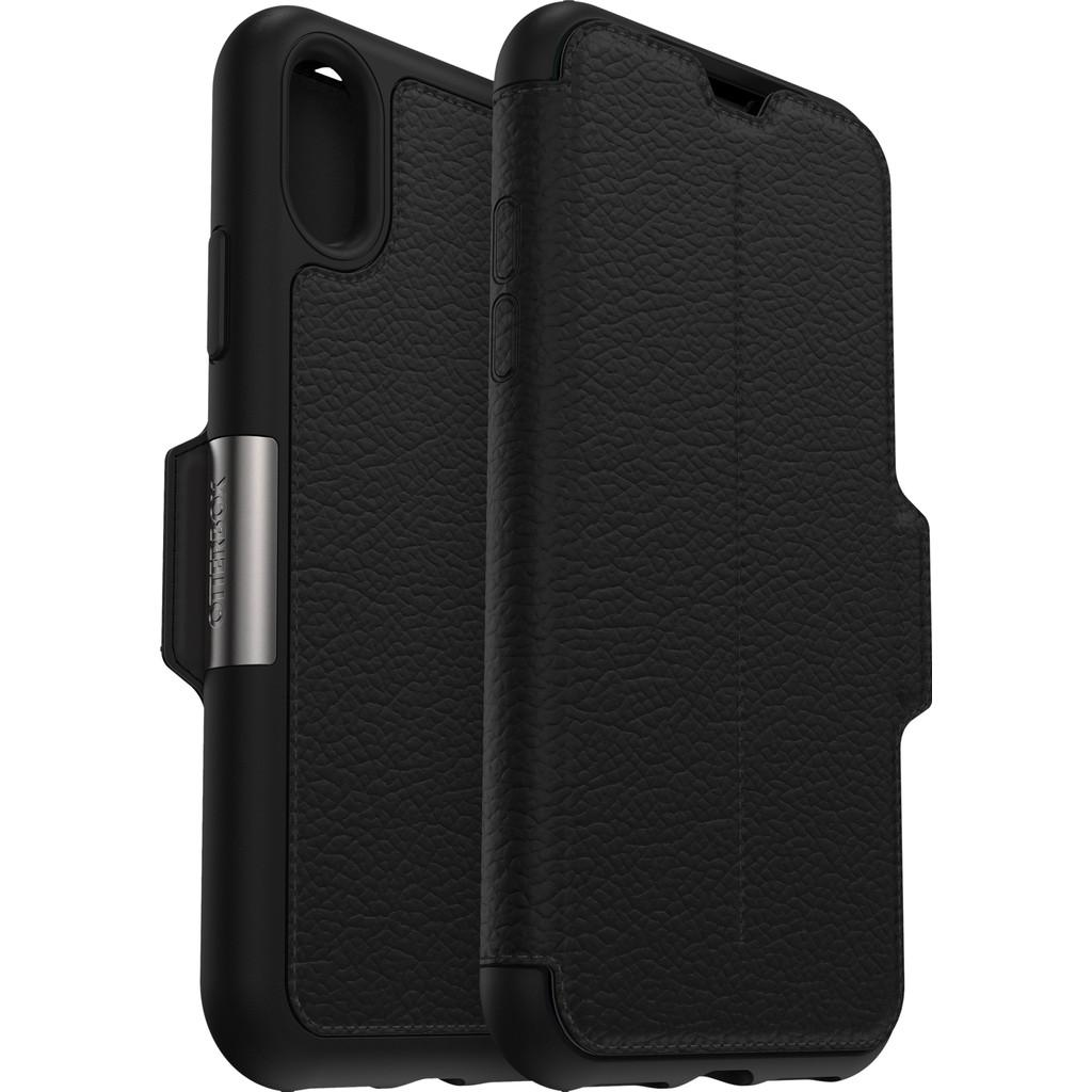 Otterbox Strada Apple iPhone Xs Book Case Zwart