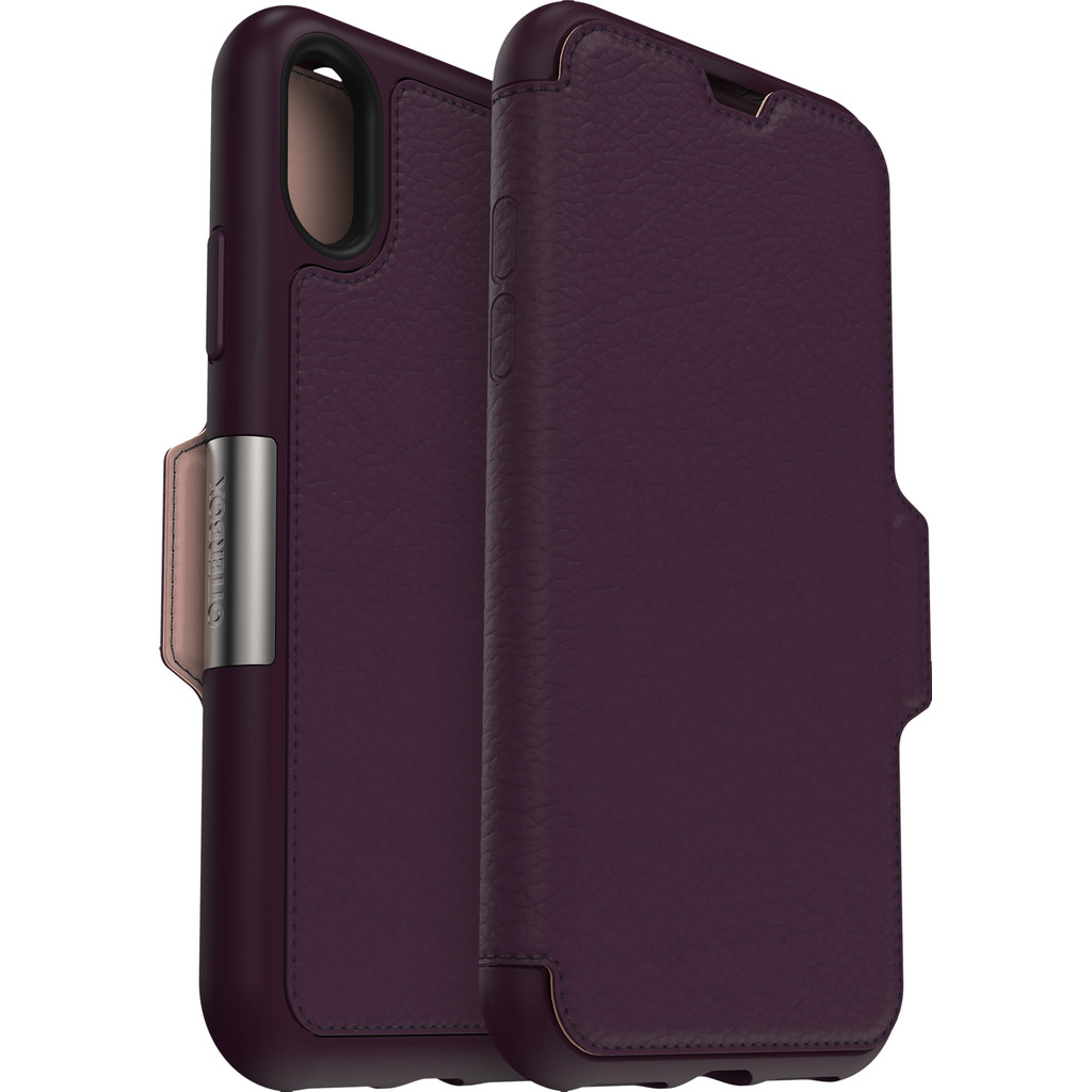 Otterbox Strada Apple iPhone Xs Book Case Paars