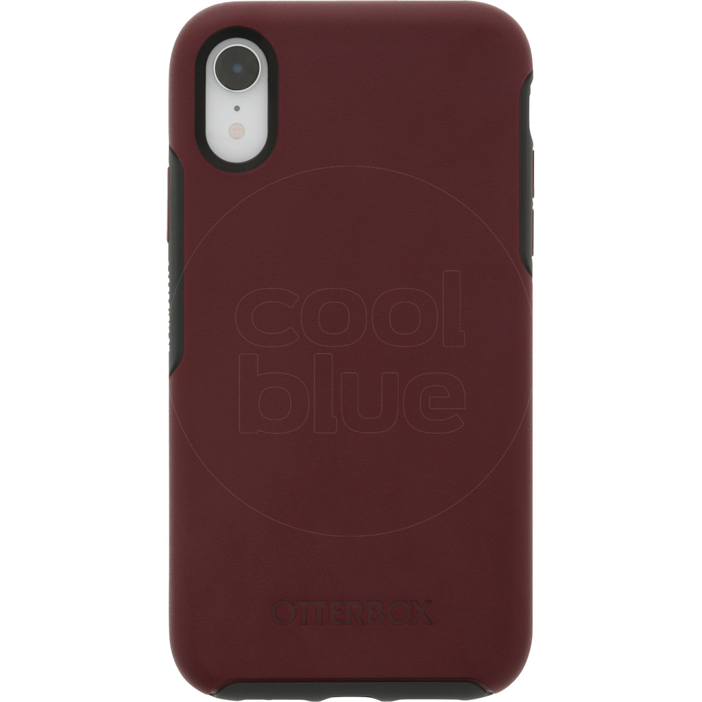 Otterbox Symmetry Apple iPhone Xr Back Cover Rood