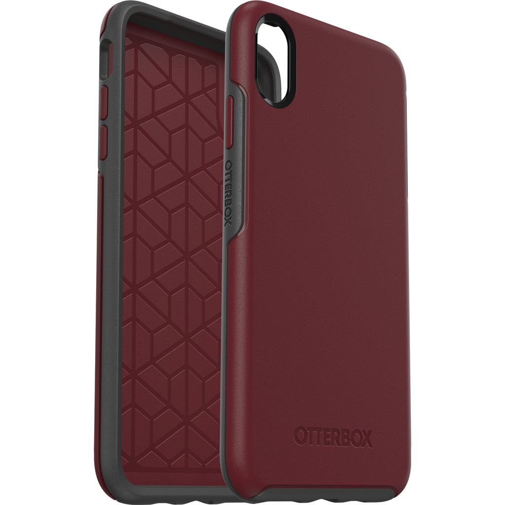 Otterbox Symmetry Apple iPhone Xs Max Back Cover Rood